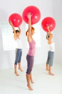 PCOS encouragement Women exercising