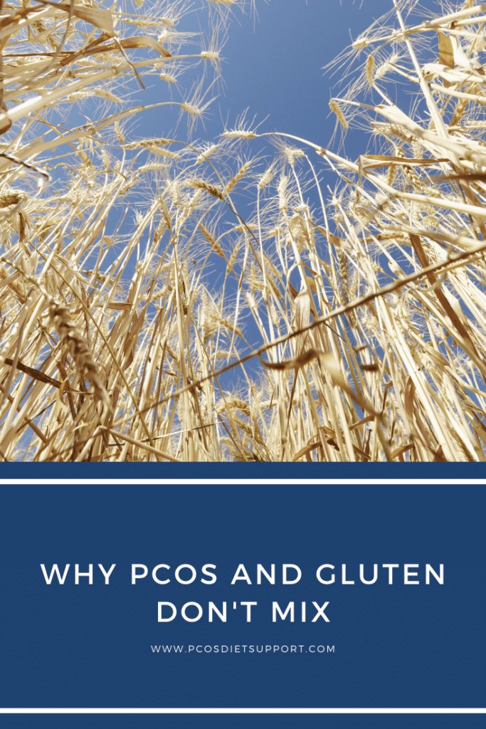 Why PCOS and gluten don't mix pinterest