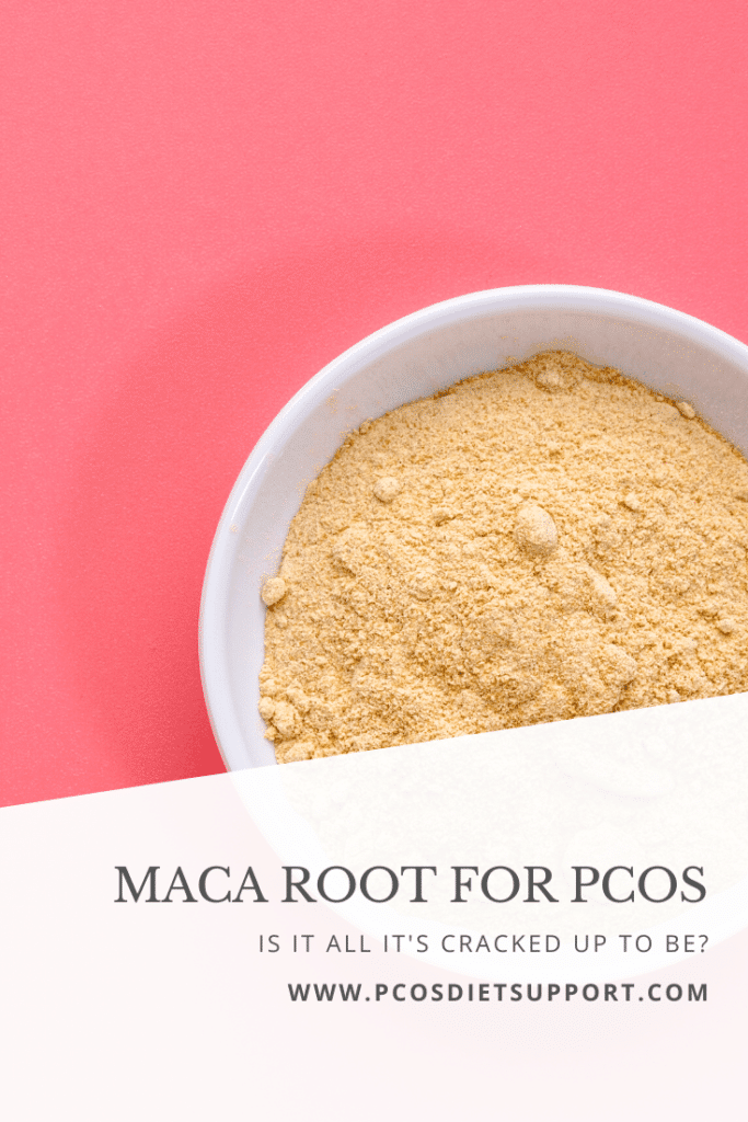 Maca root for PCOS - Is it all its Cracked up to be? pinterest