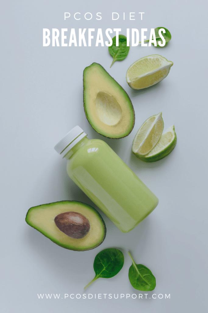 PCOS Diet Breakfast Ideas pinterest