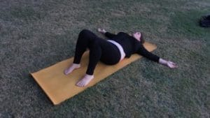 yoga for PCOS gentle twists 1
