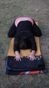 yoga for pcos childs pose 1