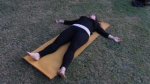yoga for pcos corpse pose
