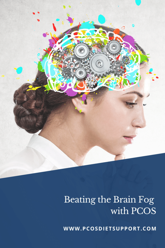 Beating Brain Fog with PCOS pinterest