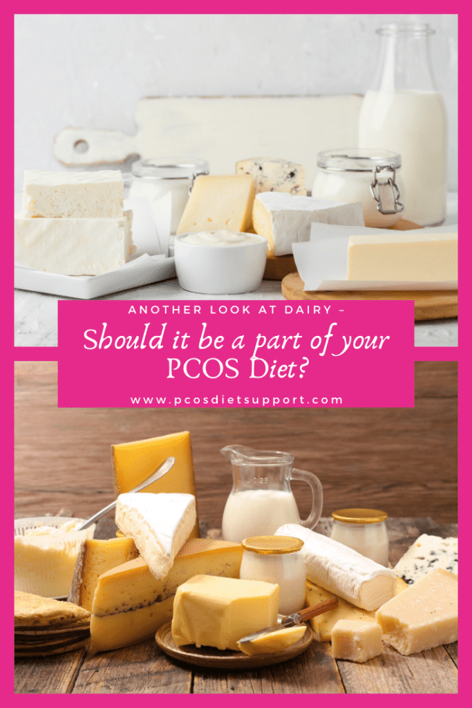 Another look at dairy - should it be a part of your PCOS diet pinterest