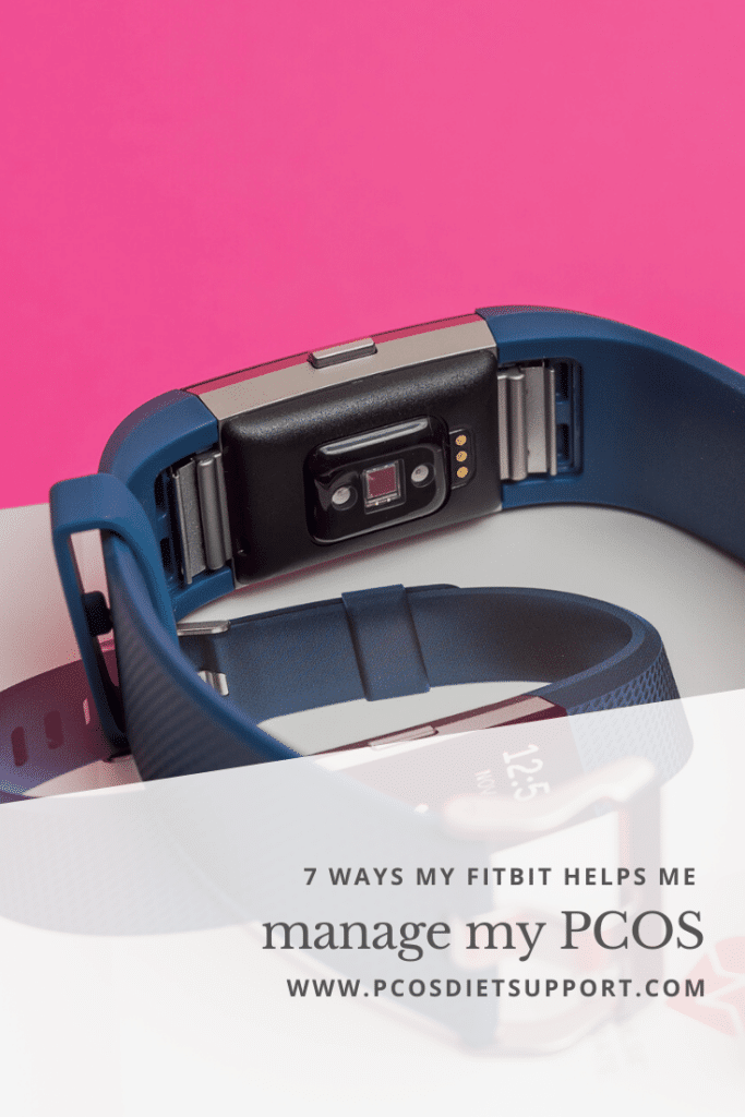 7 Ways my Fitbit helps me manage my PCOS pinterest
