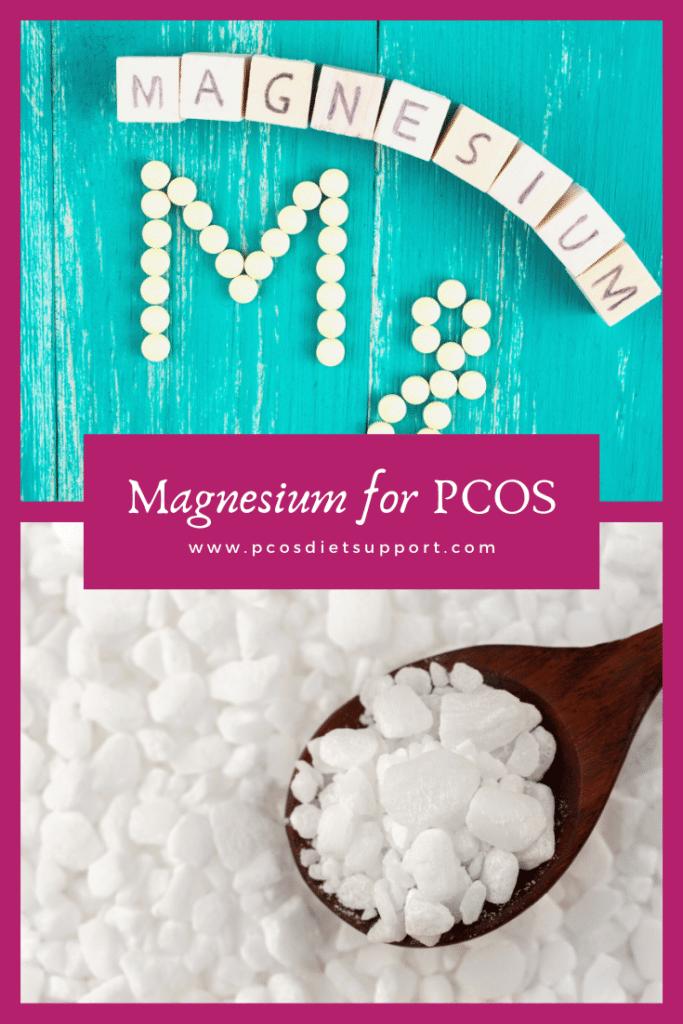 Magnesium for PCOS pinterest