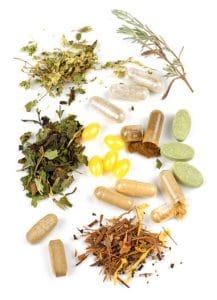 Herbal supplement pills