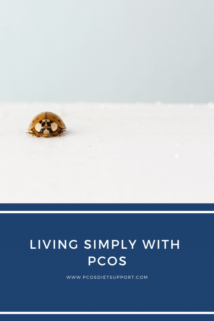 Living simply with PCOS  pinterest