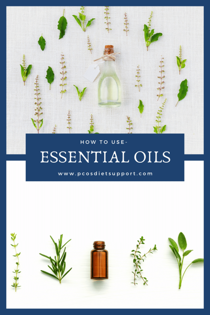 Essential oils for PCOS pinterest