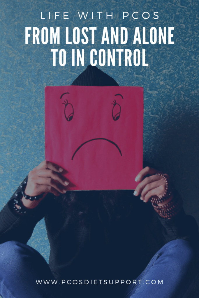 Life with PCOS - From lost and alone to in control pinterest