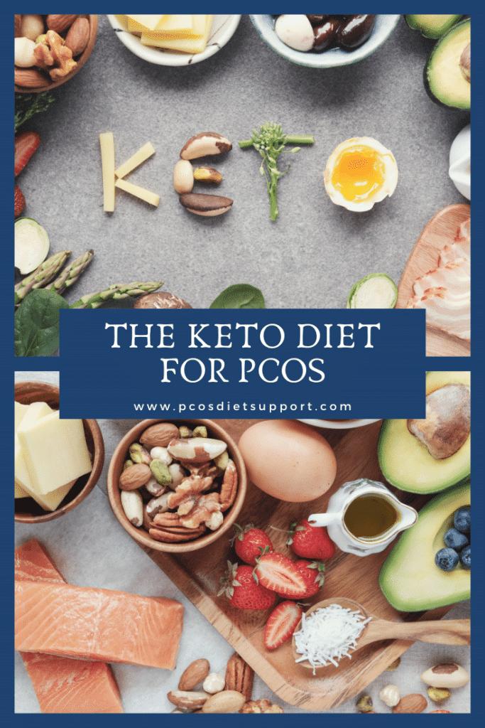 The keto diet for PCOS pinterest