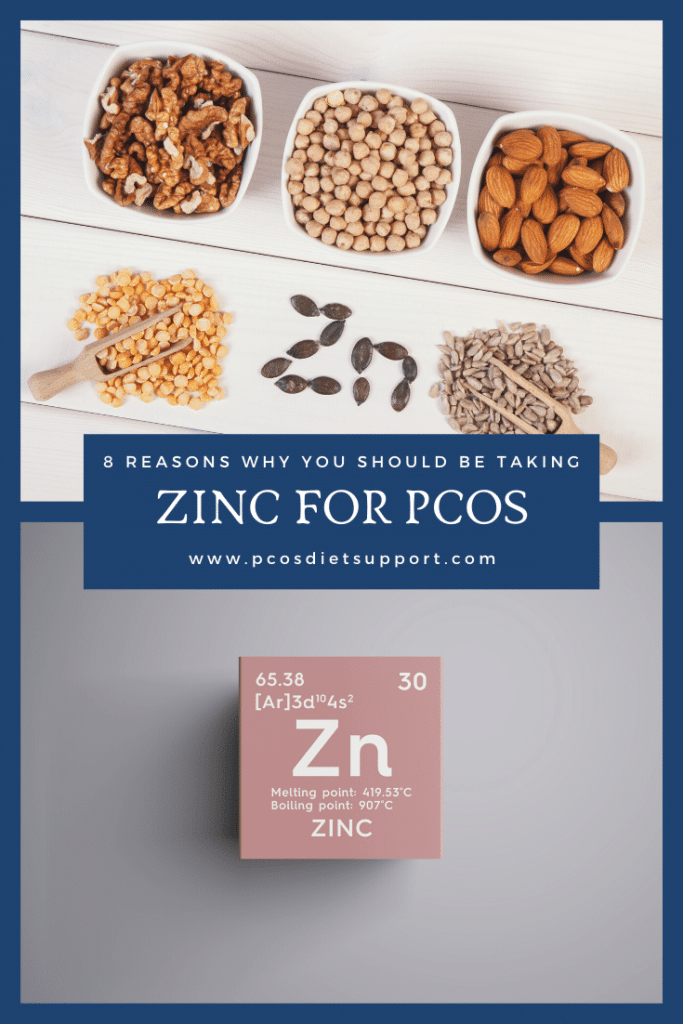 Zinc and PCOS - 8 reasons you should be taking it pinterest