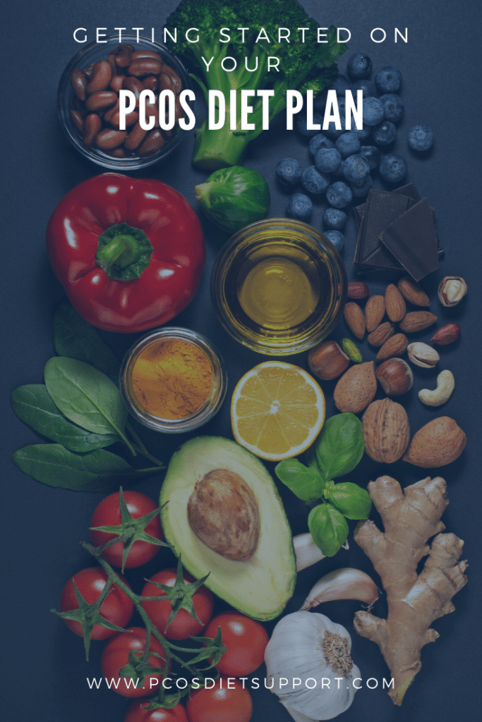 Getting started on your PCOS diet plan pinterest