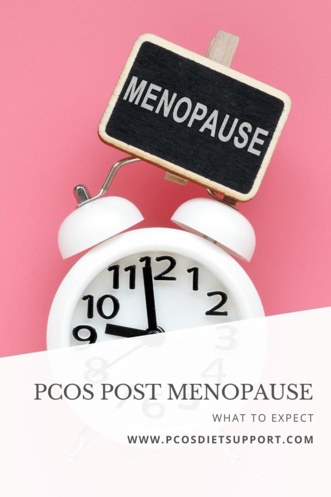 PCOS Post menopause pinterest