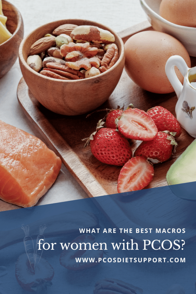 macros for PCOS pinterest image