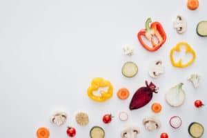 vegetables sliced in half - anti-inflammatory