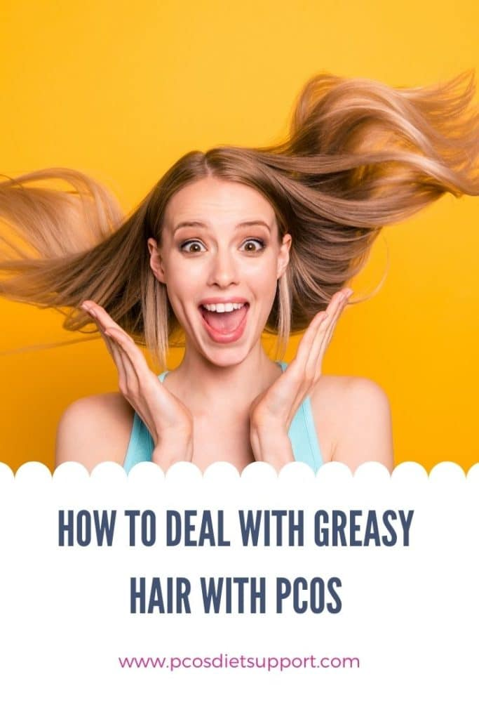 How to Deal with Greasy Hair Pinterest