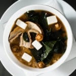 asian soup with fish
